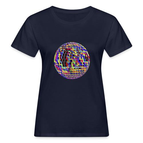 Boule à facettes psychédélique - T-shirt bio Femme