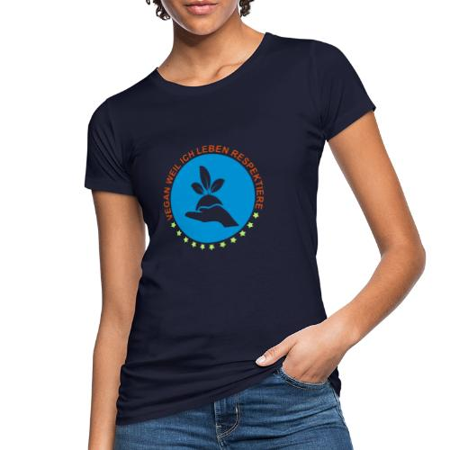 VEGAN - Frauen Bio-T-Shirt