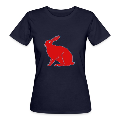 Roter Hase - Frauen Bio-T-Shirt