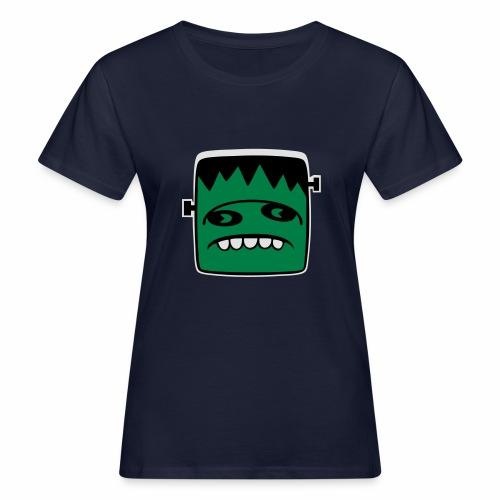 Fonster Weisser Rand ohne Text - Frauen Bio-T-Shirt