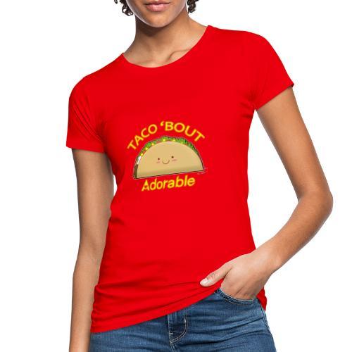 taco - T-shirt ecologica da donna