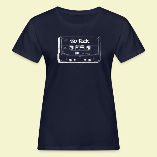 '80 Rock - White - T-shirt ecologica da donna