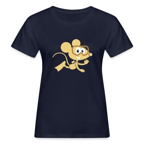 TAUCHMAUS (Figur) - Frauen Bio-T-Shirt