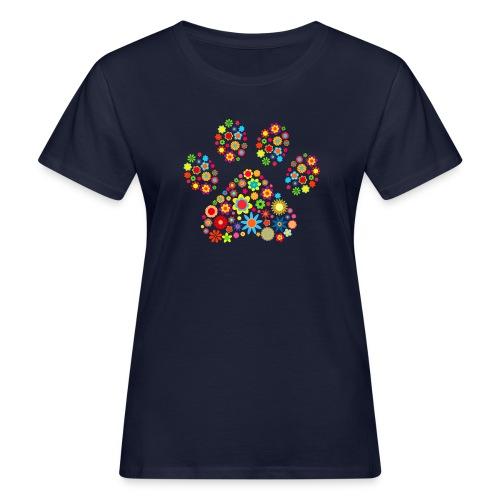 Vorschau: flower dog paw cat - Frauen Bio-T-Shirt