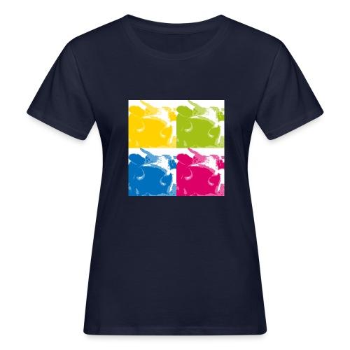 4 Kühe - Frauen Bio-T-Shirt