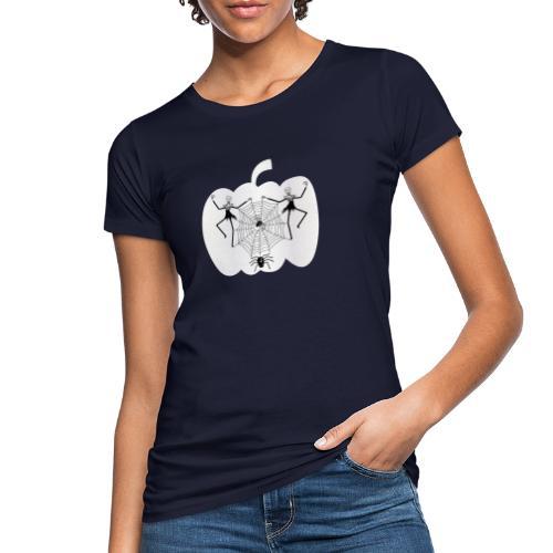 halloween spinnennetz und Skelette - Frauen Bio-T-Shirt