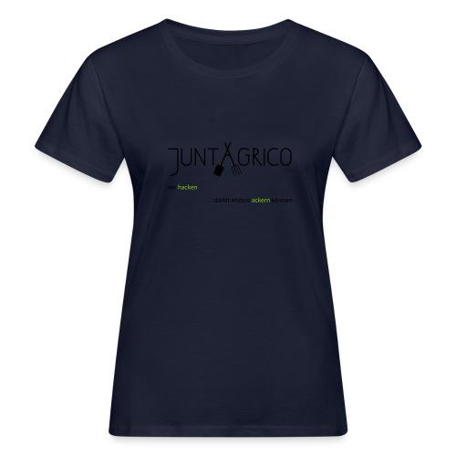juntagrco_hacken - Frauen Bio-T-Shirt