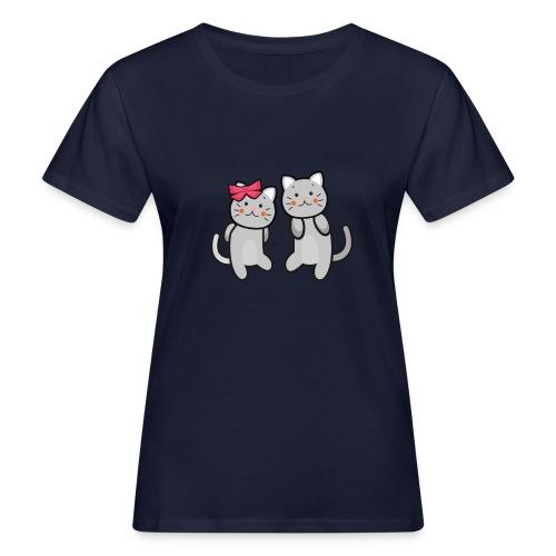 Kotki - Ekologiczna koszulka damska