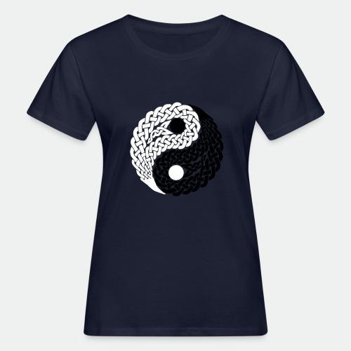 Yin und Yang Keltische Knoten Geschenk Yoga Zen - Women's Organic T-Shirt