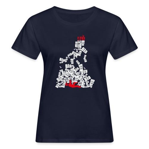 diretravolto - T-shirt ecologica da donna