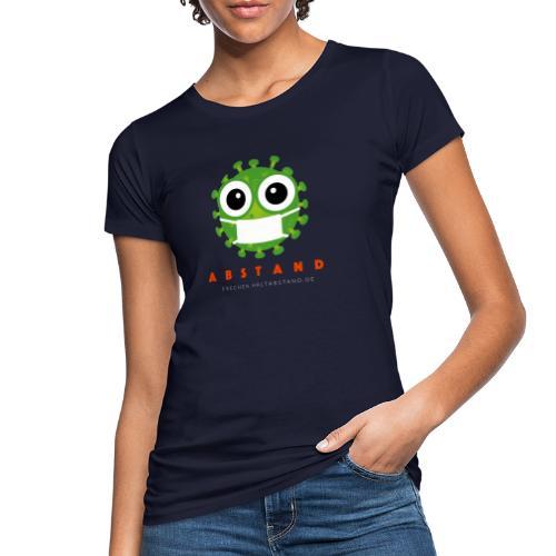 Frechen hält ABSTAND - Dunkel - Frauen Bio-T-Shirt
