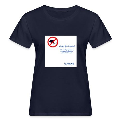 AntiAik - Ekologisk T-shirt dam