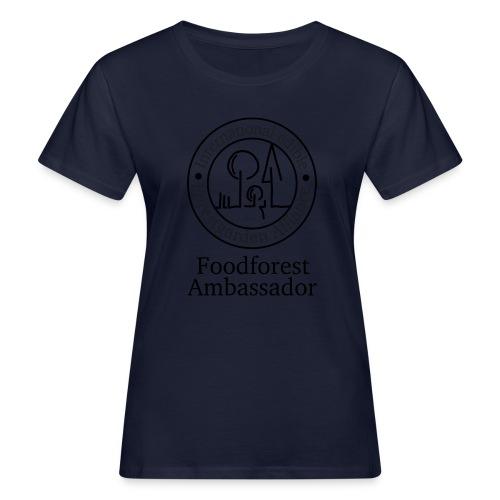foodfores Ambassador sw - Frauen Bio-T-Shirt