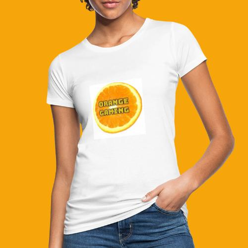 Orange_Logo_White - Women's Organic T-Shirt