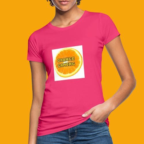 Orange_Logo_White - Women's Organic T-Shirt