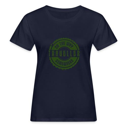 FP13 TR-02 ON THE WAY SOMEWHERE-TRAVELLER PRODUCTS - Naisten luonnonmukainen t-paita