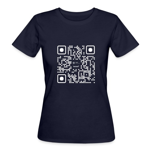 QR - Maidsafe.net White - Women's Organic T-Shirt