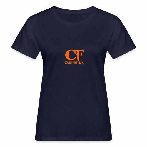 Caepiofilia Naranja - Camiseta ecológica mujer