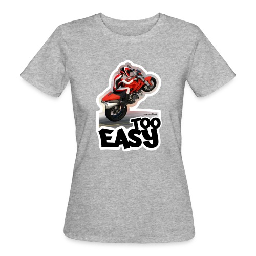 Ducati Monster Wheelie A - Camiseta ecológica mujer