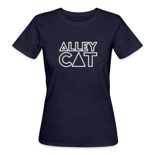 Alleycat Logo Shirt - Frauen Bio-T-Shirt