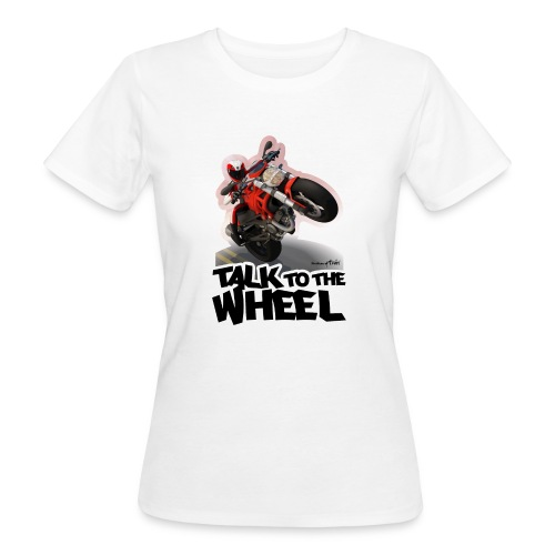 Ducati Monster Wheelie B - Camiseta ecológica mujer