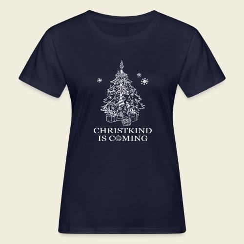 Christkind neu weiss - Frauen Bio-T-Shirt