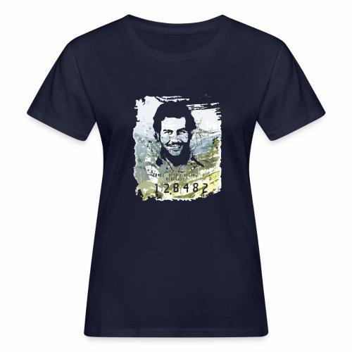 Pablo Escobar distressed - Frauen Bio-T-Shirt