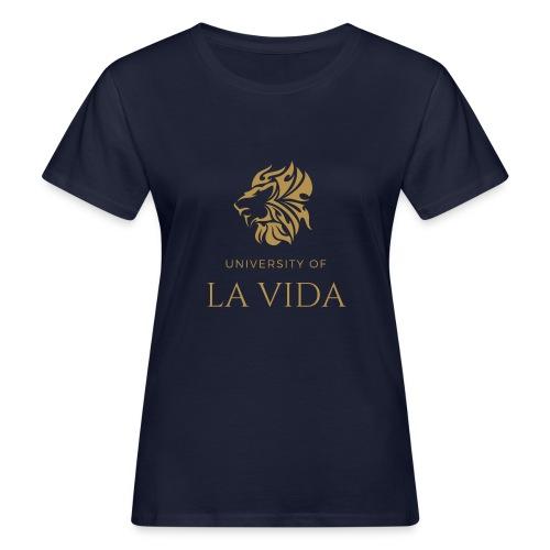 University of LA VIDA - Ekologisk T-shirt dam
