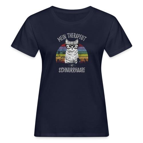 Vorschau: Therapeut Katze - Frauen Bio-T-Shirt