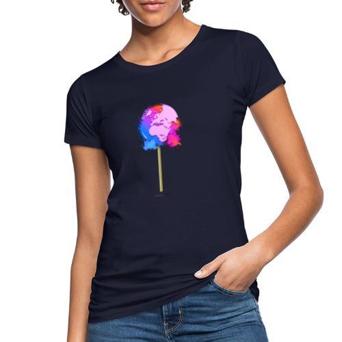 TShirt lollipop world - T-shirt bio Femme