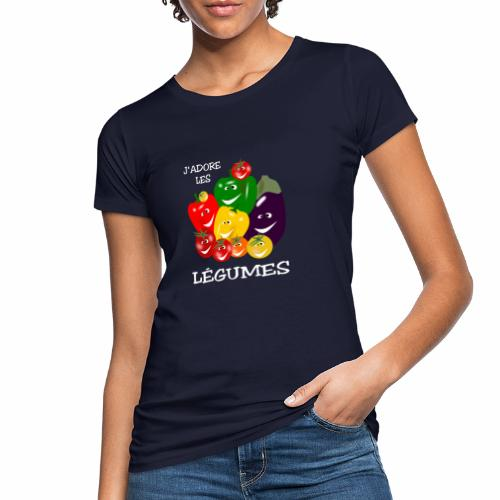 I love vegetables - Women's Organic T-Shirt