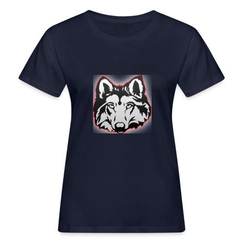 Wolfie (Red) - Women's Organic T-Shirt