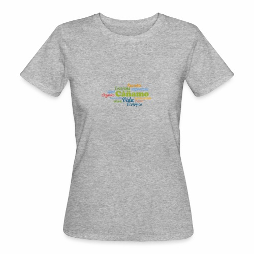 Cáñamo Sustentable - Camiseta ecológica mujer