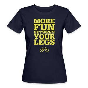 More Fun - Frauen Bio-T-Shirt