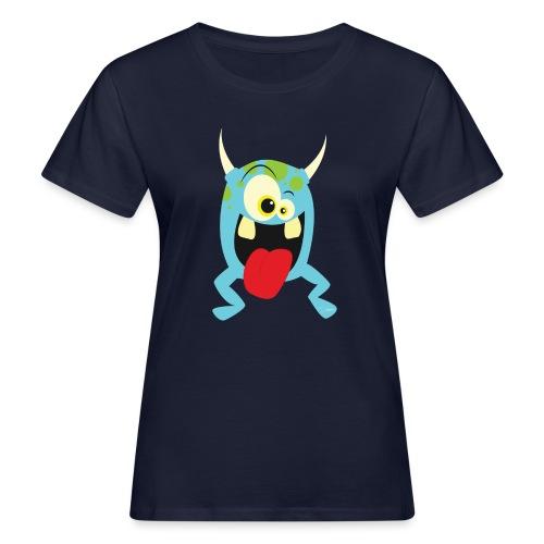 Monster blue - Vrouwen Bio-T-shirt