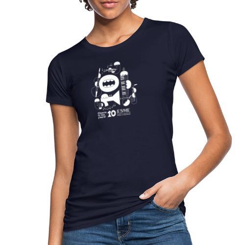 ESME Anniversary Design Weiss - Frauen Bio-T-Shirt