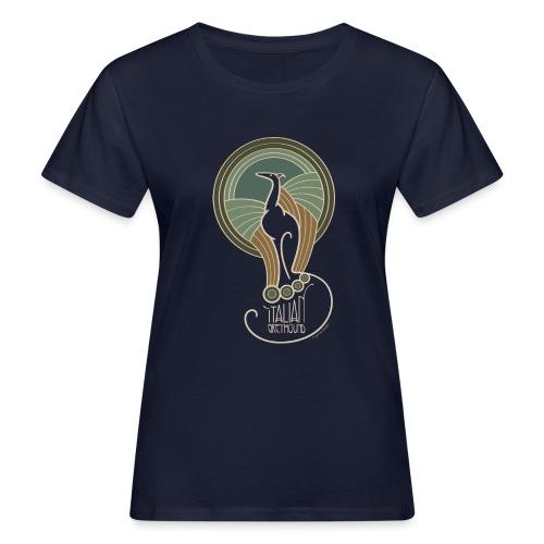 italian greyhound jugendstil 6 - Vrouwen Bio-T-shirt