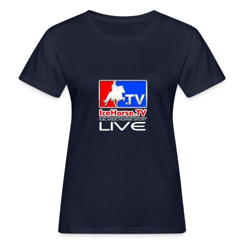 IceHorse logo - Women's Organic T-Shirt