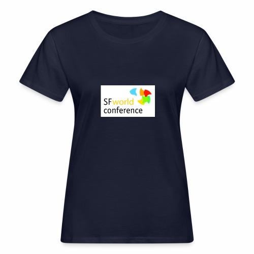 SFworldconference T-Shirts - Frauen Bio-T-Shirt