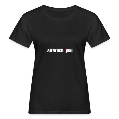 Airbrush - Frauen Bio-T-Shirt