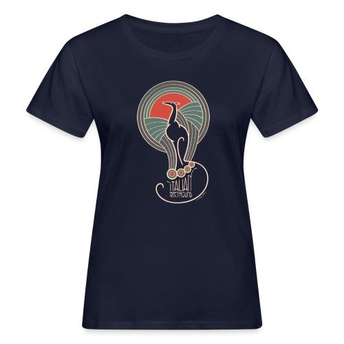 italian greyhound jugendstil 5 - Vrouwen Bio-T-shirt