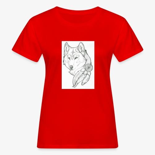 wolf - Vrouwen Bio-T-shirt