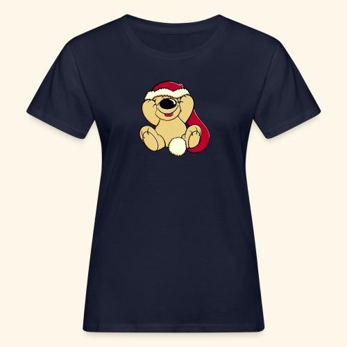 Bärige Weihnachten - Frauen Bio-T-Shirt