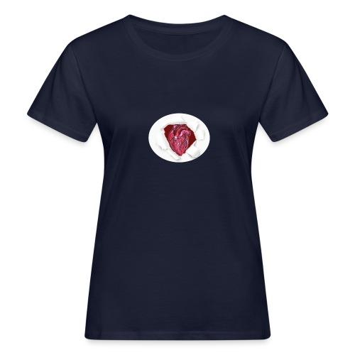 CUORE BATTICUORE - T-shirt ecologica da donna