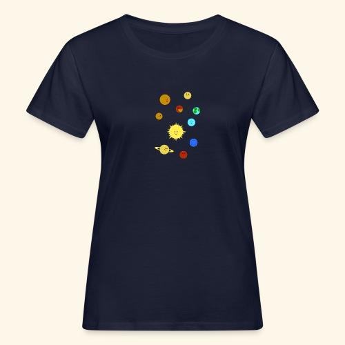Solsystemet - Ekologisk T-shirt dam