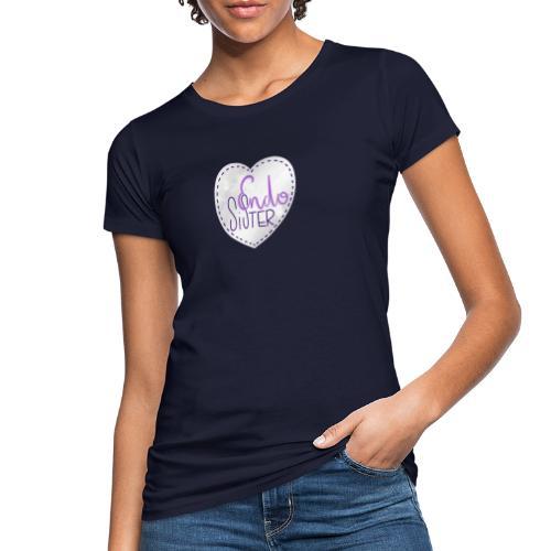 Endo sister Herz - Frauen Bio-T-Shirt