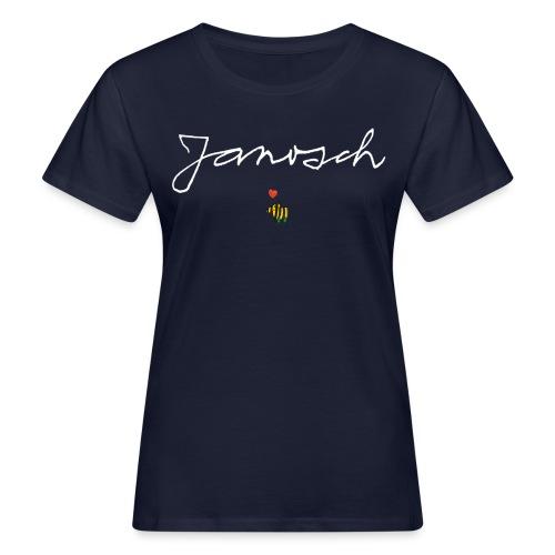 Janosch Schriftzug mit Tigerente - Frauen Bio-T-Shirt