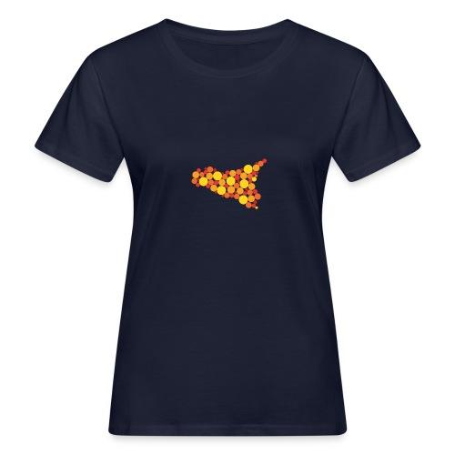 logo sicilia piccolo - T-shirt ecologica da donna