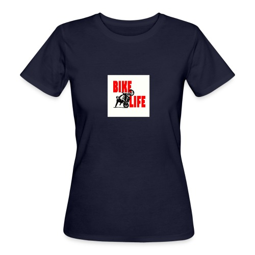KEEP IT BIKELIFE - Women's Organic T-Shirt