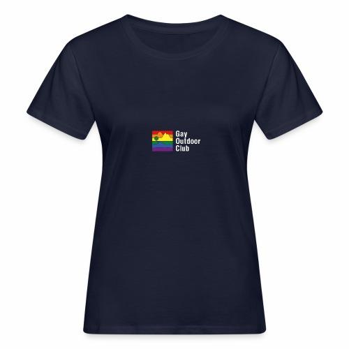 GOC Logo White Text - Women's Organic T-Shirt